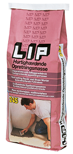 LIP 245 Reparatiemortel Snelhardend